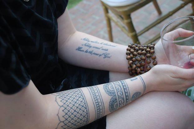 Mehndi Tattoo Half Sleeve : Elizabeth comport ~ artist