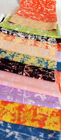 Microbe Scarves Colorplays