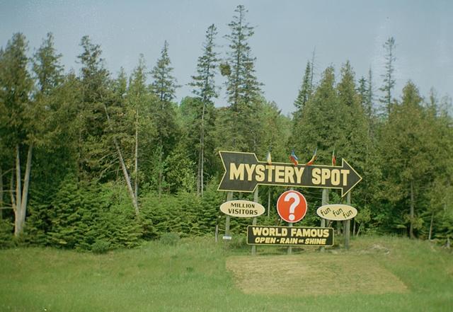 The Mystery Spot, Upper Peninsula MI