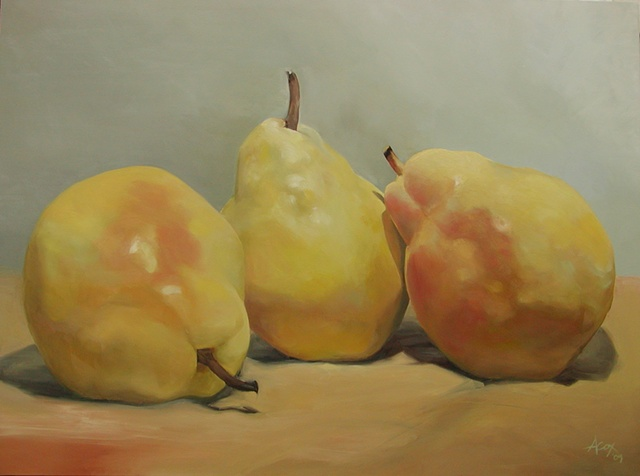 Three Little Pears - SOLD