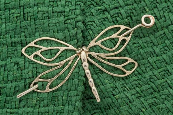 Dragonfly Shawl Pin