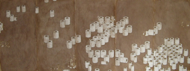 Toilet Paper Landscape, v.2