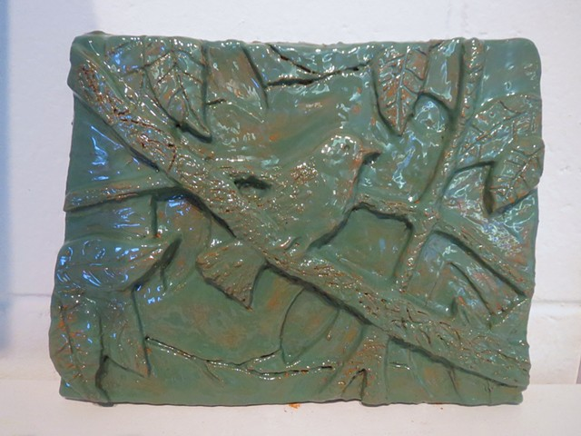 Foundations I Bas Relief Ceramic Project: Systems in Nature