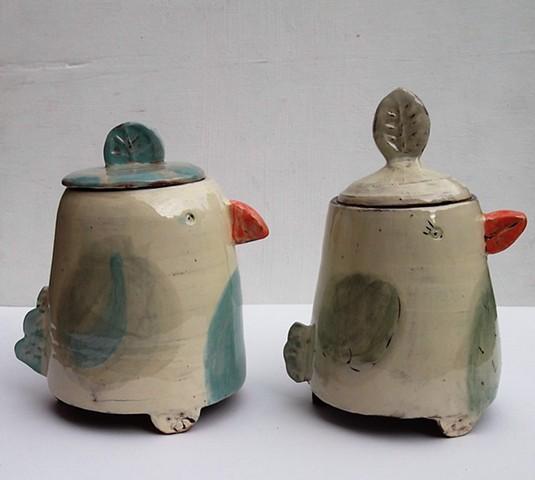 Tea caddies