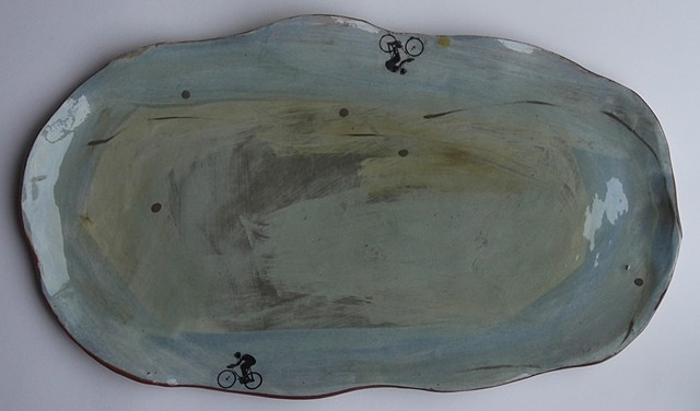 82  organic velodrome platter