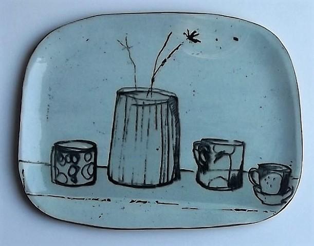 still life plate