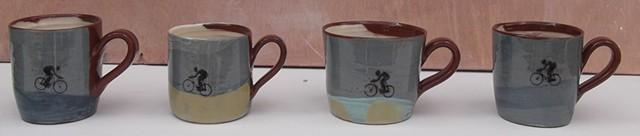 127. Bike mugs
