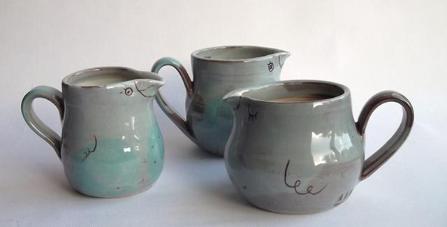blue bird jugs