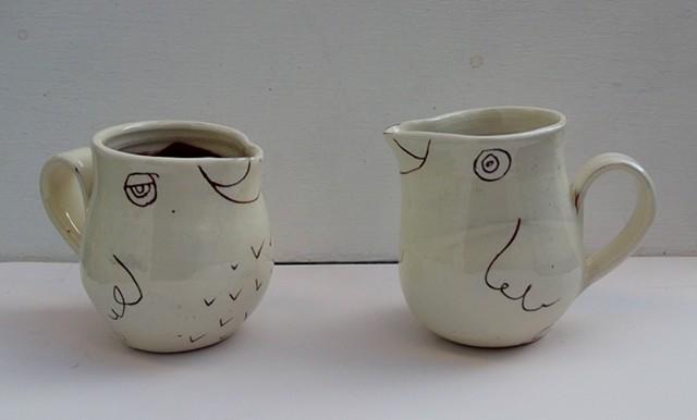 Bird jugs