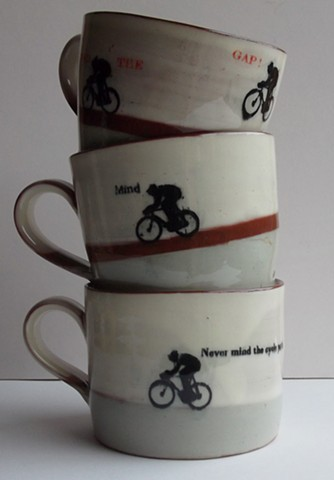 Cambridge bike mugs
