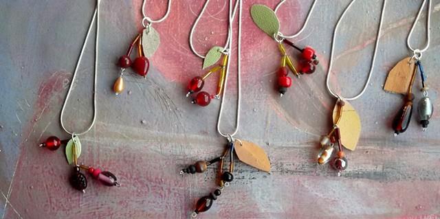 Hedgerow pendants