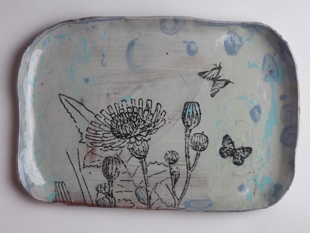 730. platter, botanical