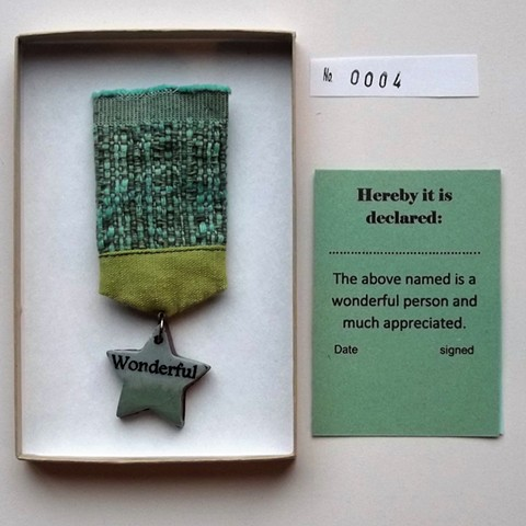 wonderful medal