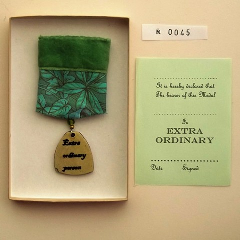 extra ordinary person medal