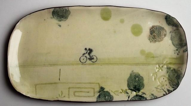 Long Bike platter