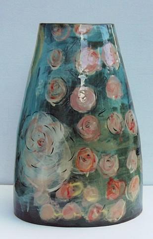 819, tall flower vase