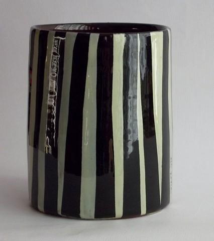 green grass vase