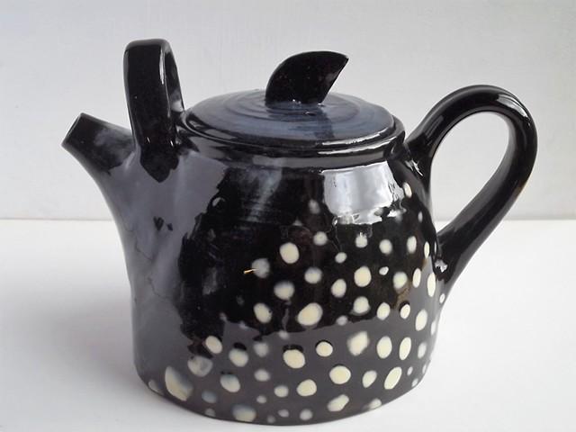 double handled big teapot