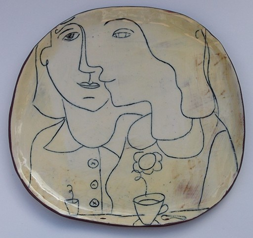 Cafe plate