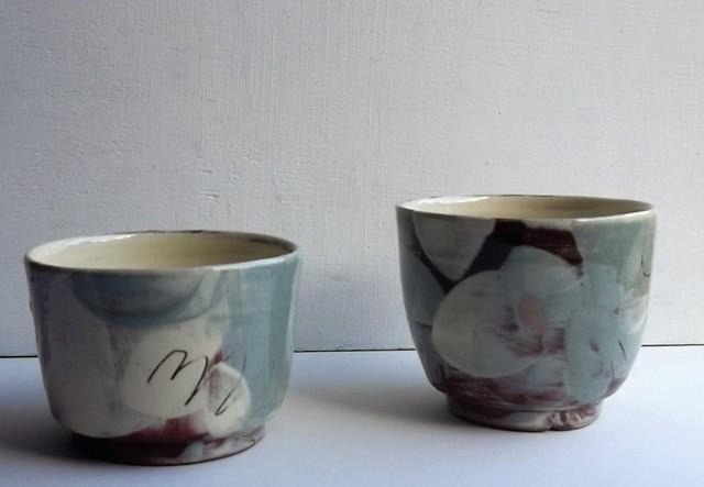small tea bowls
