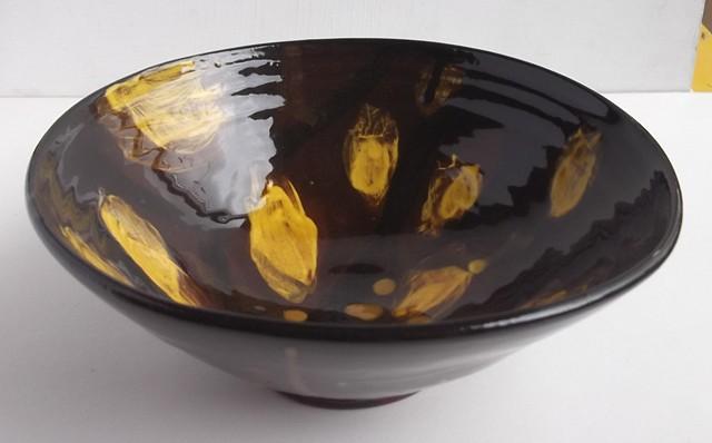 honey glazed bowl