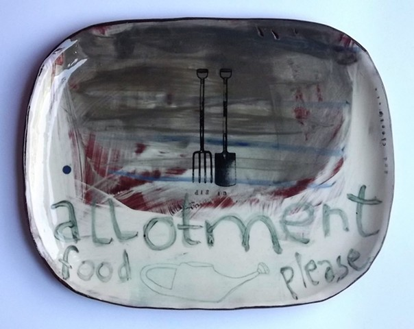 Allotment food plate