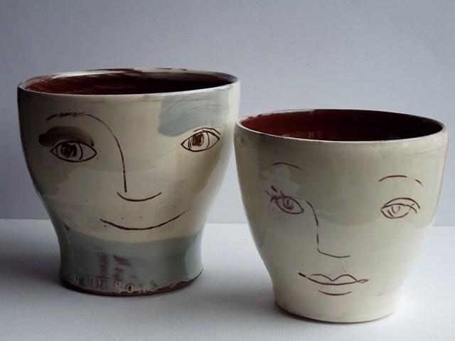 8 Face pots