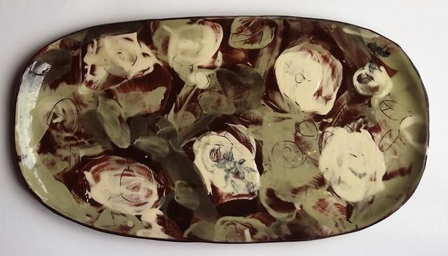 Rose platter 2
