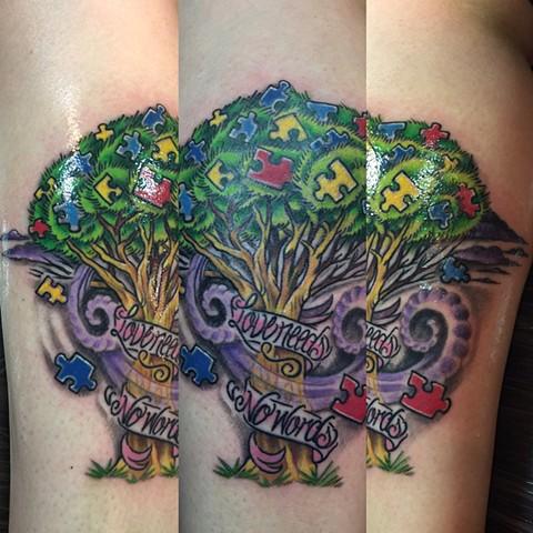 Burning Sparrow Tattoos and Art