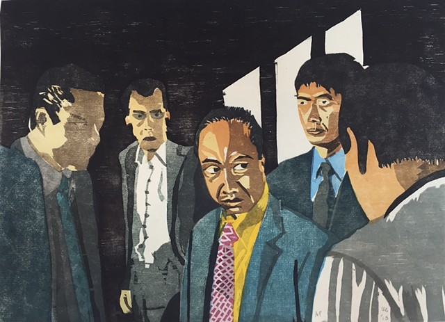 "Yakuza Print: ""I'll Have You All Arrested"" (proof)"