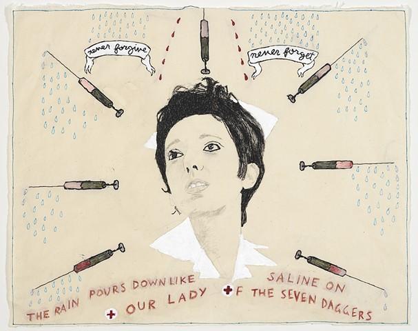 Joyce Carol Oates (Our Lady of the Seven Daggers)