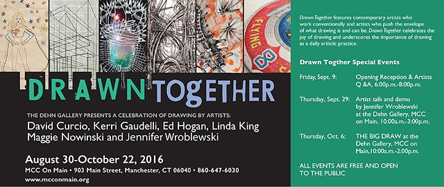 "Announcement for ""Drawn Together,"" 2016"