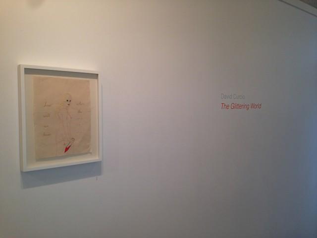 """The Glittering World"" The Hallway Gallery, Boston, 2014."