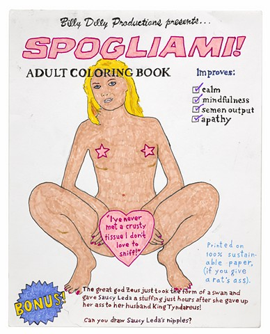 Spogiami! (adult coloring book)