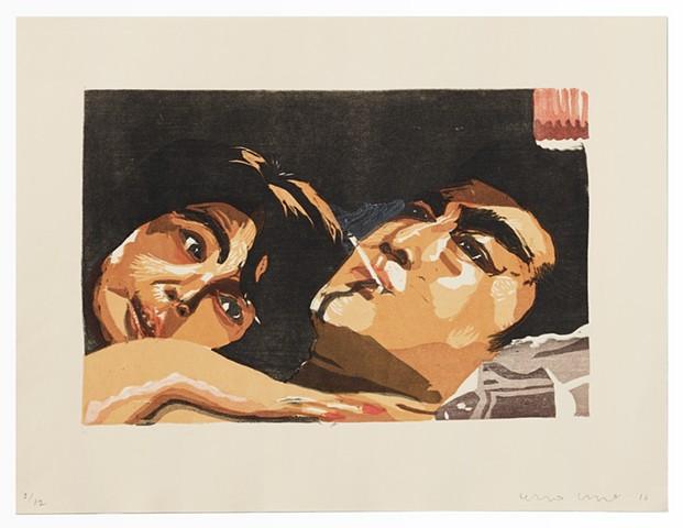 Yakuza Print (Boss' Wife 2)
