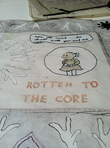 studio ephemera (ROTTEN TO THE CORE)