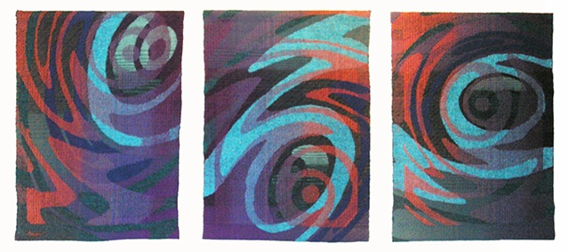 """Eye of the Storm"" (triptych)"