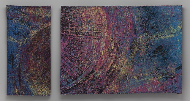 """""""Star Formation Region of a Painter's Studio"""" (diptych)"""