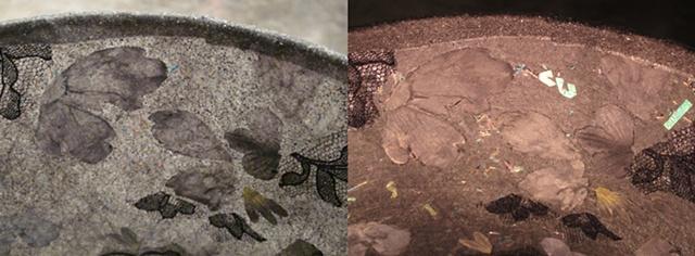 """detail of """"Meadow Mori Lamp"""""""