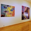 """""""Unanswered Questions"""" solo show at the Center for Tapestry Arts, New York, NY, 1990"""