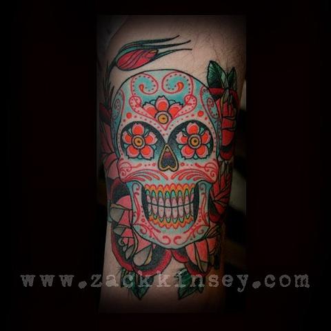 Eric's sugar skull