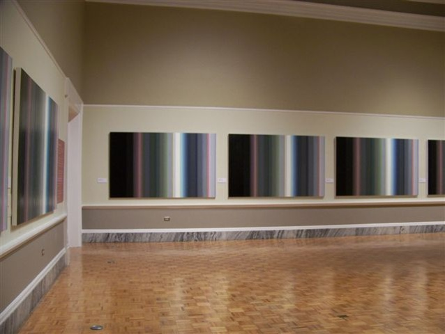 Color Recordings installation at the Gibbes Museum of Art, Charleston, SC