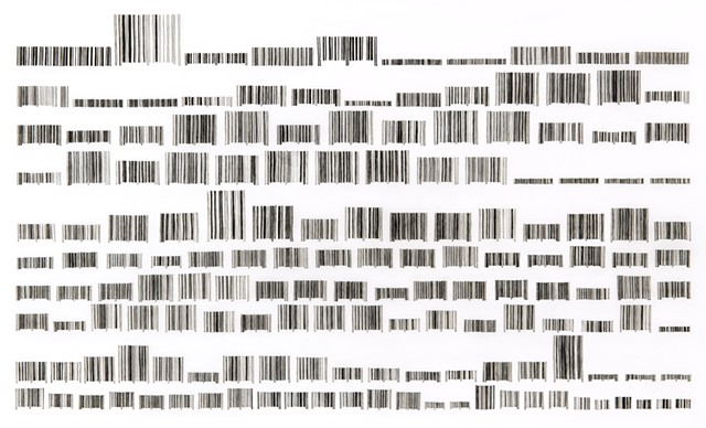Bar Codes (decreasing width)