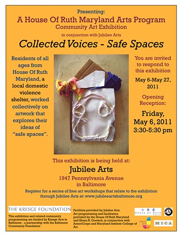 """Collected Voices"" flier"