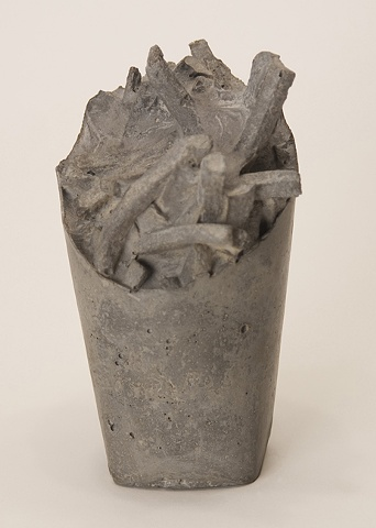 sculpture, concrete, mcdonalds, fast food, cement, portland cement