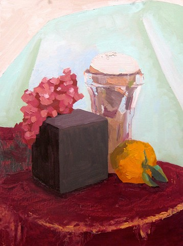 Still Life with Reflected Light