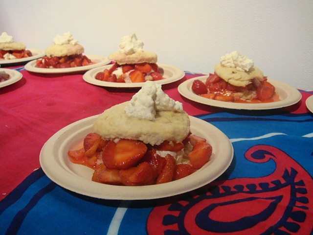 Strawberry Shortcake - we love you Ontario strawberries