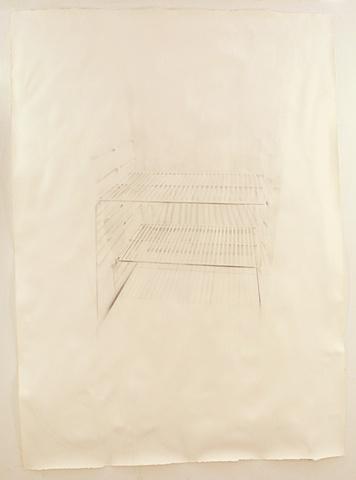 washed refridge drawing