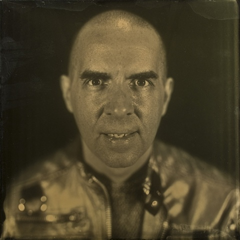"This work is a 16 x 16 inch ambrotype shot in-camera by Stephen Takacs as part of the series ""a case study of stephen."""