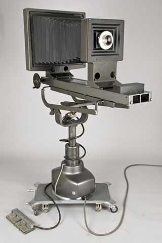A 16 x 20 inch ULF camera designed and photographed by Columbus Ohio artist Stephen Takacs.